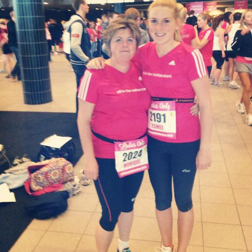 Ladiesrun with my lovely Mom!