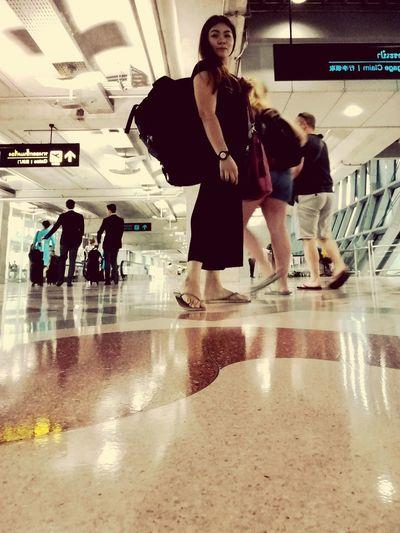 Life is journey Standing Indoors  People