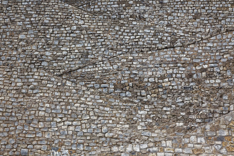 Spot the stairway Backgrounds Day Full Frame No People Outdoors Stone Material Textured  Zig-zag