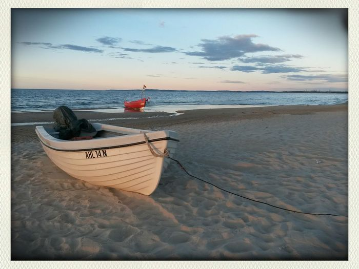 Abends am Strand von Ahlbeck