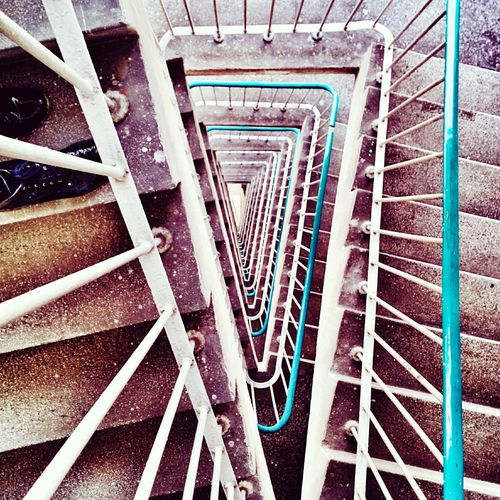 The Places I've Been Today Schody Stairs Staircase Warszawa  Warsaw Powisle Urban Geometry