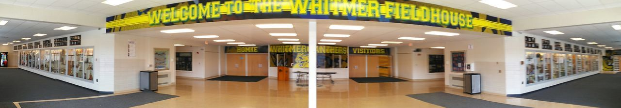 Whitmer High School Field House Highschool Fieldhouse Entrance Lobby TicketBooth