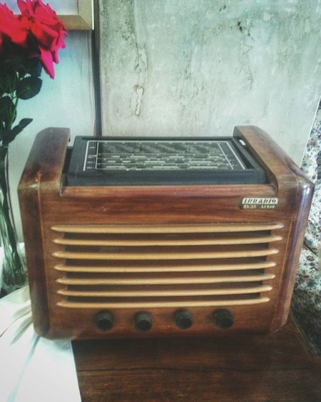 """IRRADIO DL506"". Italia 1939, superheterodyne. Vintage Technology Vintage Vintage Electronics Radio Receiver Antiquary Smartphone Photography Antiques Market Eyeemfilter F / private Collection"