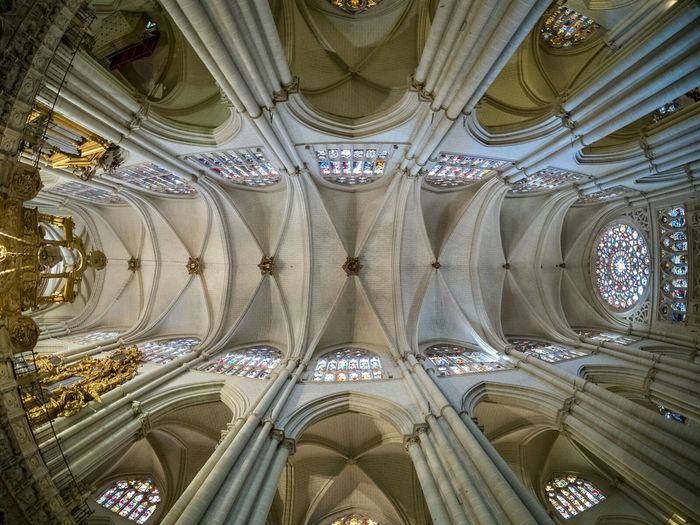 Wideangle SPAIN Toledo Cathedral Church