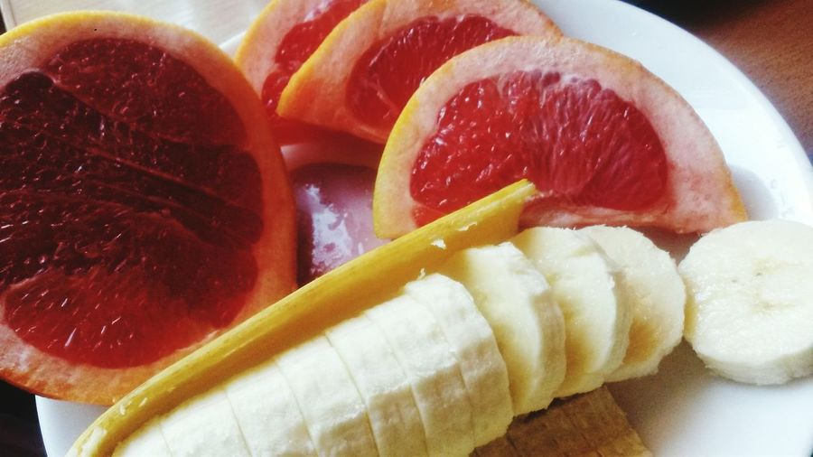 Beautifully Organized Food Freshness Healthy Eating Ready-to-eat Day No People Sweet Food Yommy Banana Grapefruit
