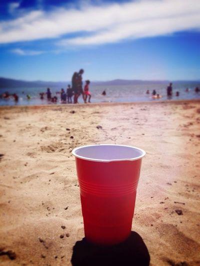 Vasitos Rojos Va a la Playa!