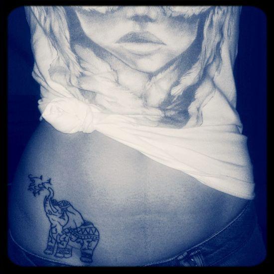 Elefante  Tatuaje