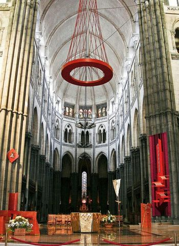 Lille cathedral. Cathedral Symmetry France Lille Shootermag Taking Photos Hi! Churchlurking Churchflow Churches