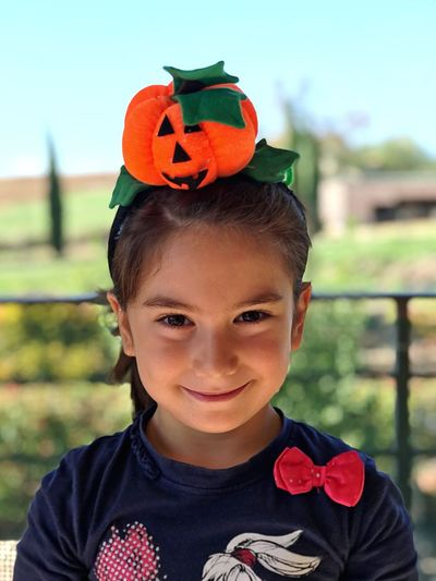 Halloween Smile Halloween Childhood Looking At Camera Portrait One Person Day Halloween Outdoors Smiling Real People Child People Pumpkin Celebration Trickortreat Trick Or Treat Smile