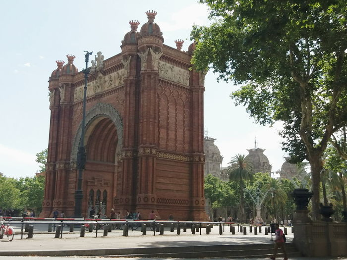 Arcdetriomf Barcelona Architecture EyeEmNewHere