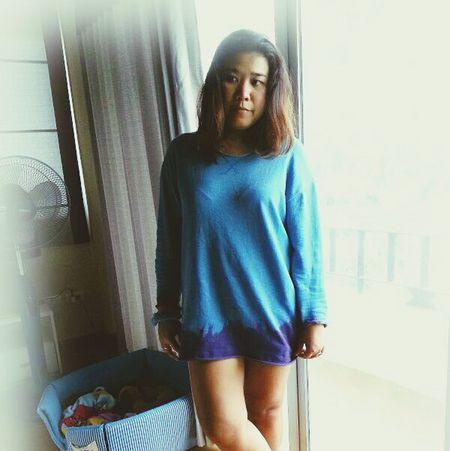 Dip dye long-sleeve unisex Street Fashion Tiedye Fashion Hipster Oversized Mogwaishop LongSleeves