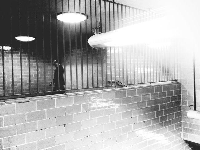 Monday morning jail :: Notes From The Underground Daily Commute The Illuminator - 2014 EyeEm Awards