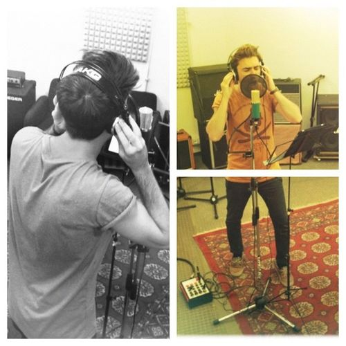 Recording @mylastfall Thealternativefactory