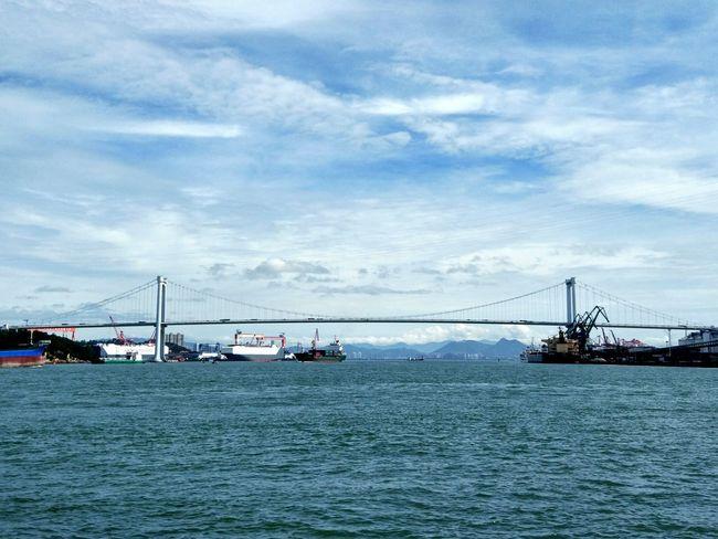 Bridge Sea Bridge Sea Sea View MIphotography PhonePhotography Bridges Bridge View Bridge Photography Brigdeovertroutwater Seascape Seascape Photography