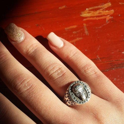 My Free Chapter Group Member ring. Iloveharleys BikerGirl Nails Skullring freechapter afriquedusud