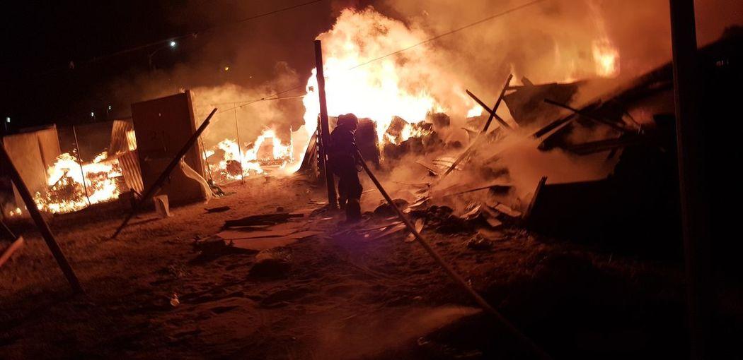 Riot Men Flame