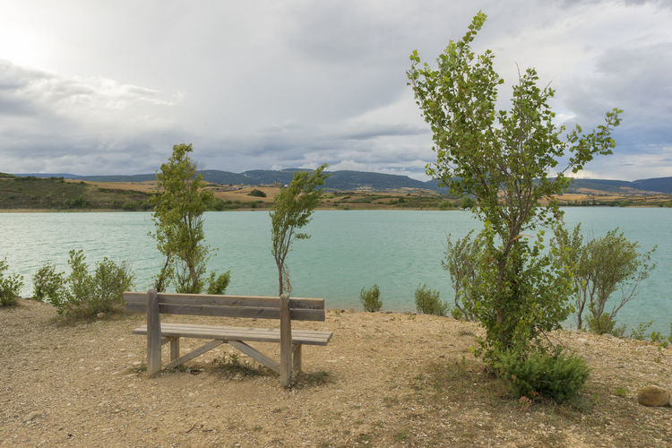 Alloz Beauty In Nature Cloud - Sky Clounds  Day Growth Lake Landscape Nature Nature Navarra No People Outdoors Plant Scenics Sky SPAIN Tranquil Scene Tranquility Tree Water