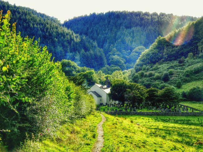 Wales Photography Taking Photos Check This Out Countryside Church Oldbuilding Landscape Path Trees