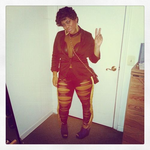 NOW Y'ALL GET THE FULL EFFECT PHUCKMATCHING PHUCKURDRESSCODE CONFIDENTSOMETIMESCOCKY