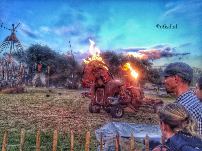 Wheels on fire Music Festival Moments By Fltr Magazine Glastonbury