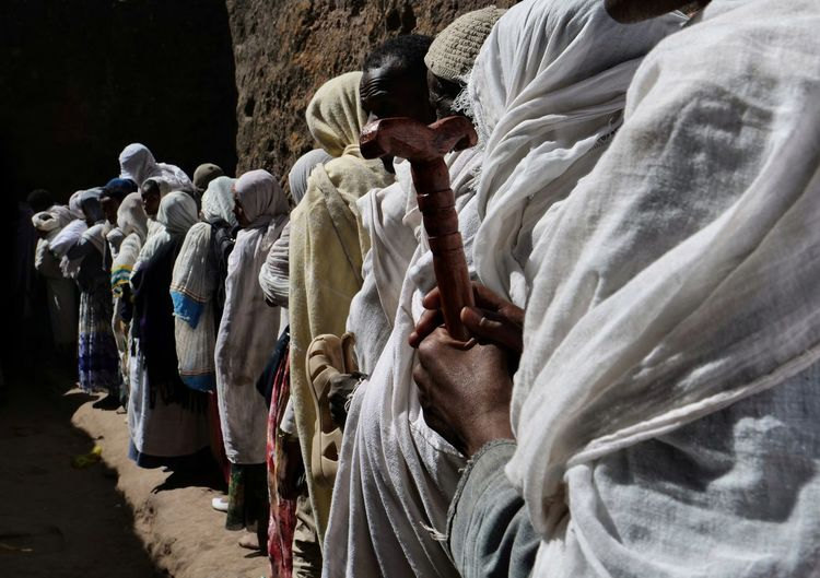 Church Christmas Leddet Pilgrim White Purity Queuing Lalibela Ethiopia Place Of Worship Catholicism Church Christianity Spirituality Religion The Photojournalist - 2019 EyeEm Awards