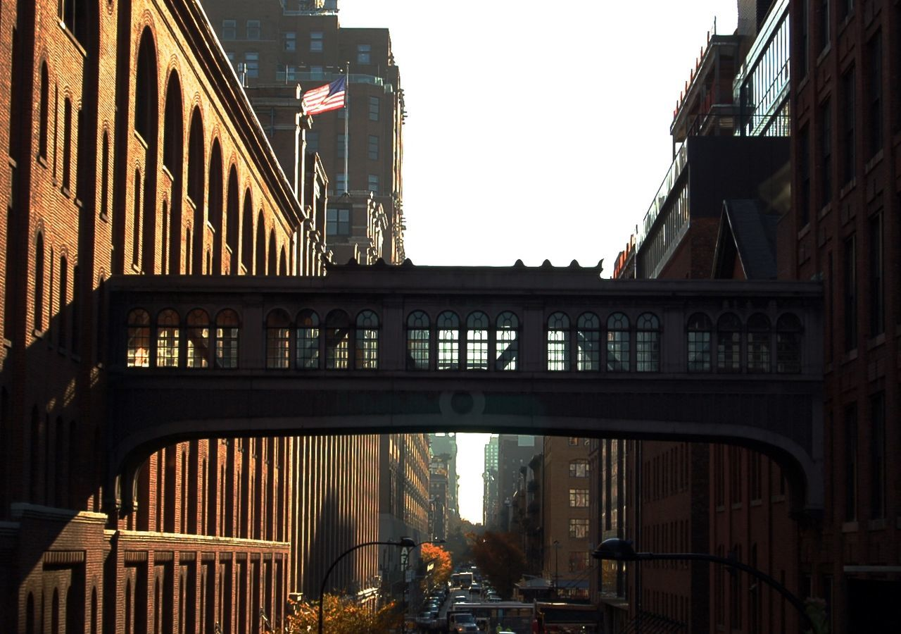 architecture, built structure, building exterior, bridge - man made structure, city, outdoors, real people, day, sky