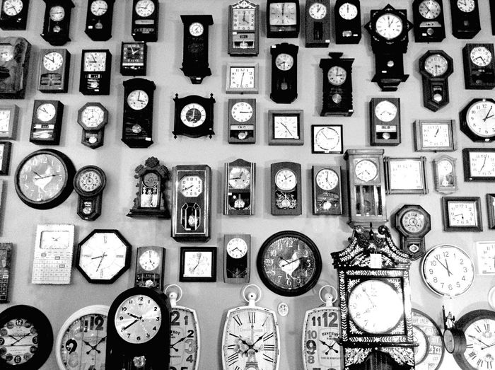 Black And White Bw_collection Photography The Week Of Eyeem Taking Photos Life Good Times Monochrome Clock People Watching