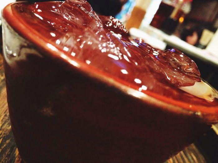 㐂六。表面張力との戦い…(˚ଳ˚) Good Food Japanese Sake Being Cool Yummy!