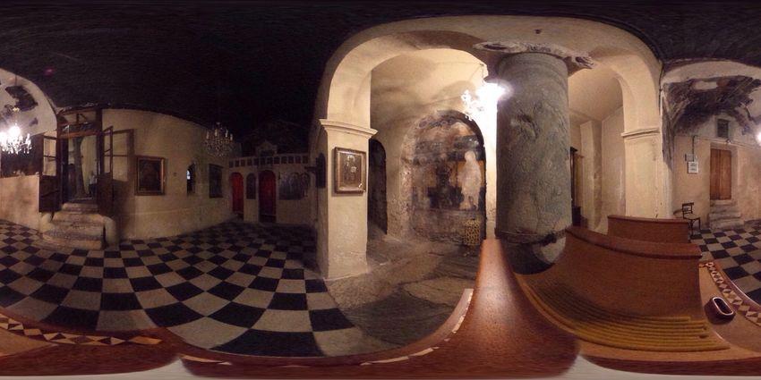 Cathedral Anafiotika (1050) inside… #TBEXathens #TBEX
