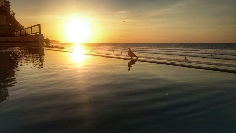 Sunset Manabi Ecuador Mirror Reflection Life Is A Beach EyeEm
