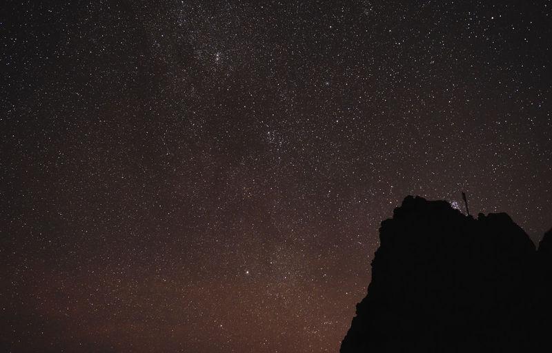 Astronomy Canary Islands Constellation Galaxy La Palma Milky Way Mountain Nature Night No People Outdoors Roque De Los Muchachos Sky Space Spaın Star Field