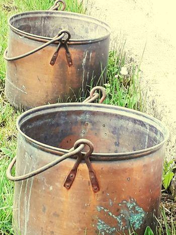 Kupferkessel Outside Photography Container Close-up Water Tank Gardening Equipment EyeEmNewHere