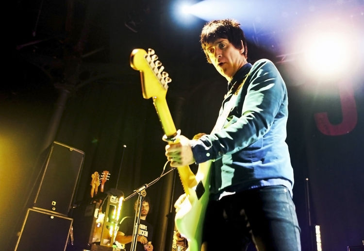 Johnny Marr Music Concert Photography Electric Guitar Guitar Guitarist Music Music Photography  Musician Musicians Playing Rock Guitar Rock Music Rock Musician Stage Photography