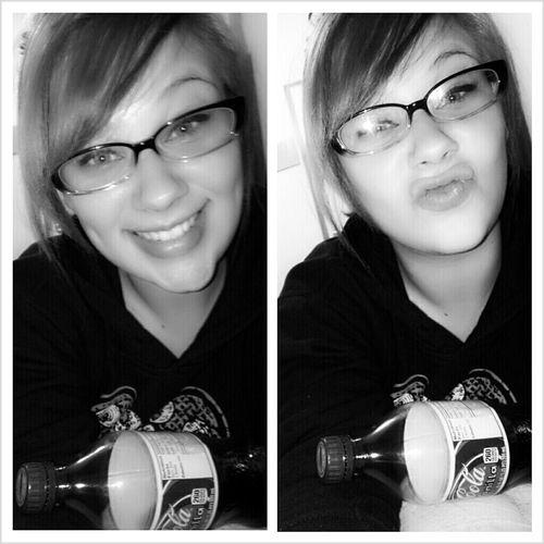 #me #bored #followme #cute #duckface #smile #blackandwhite