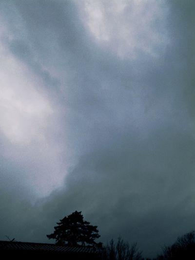 clouds, pluie. Clickhouse