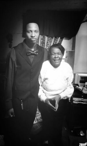 Me And My Lovely Grandma Before Prom #2013