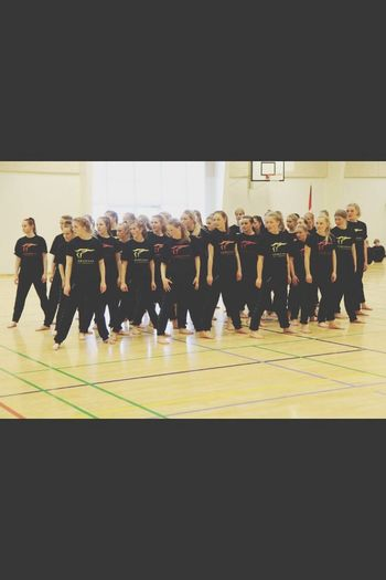 Girls Denmark Gymnastics Sport