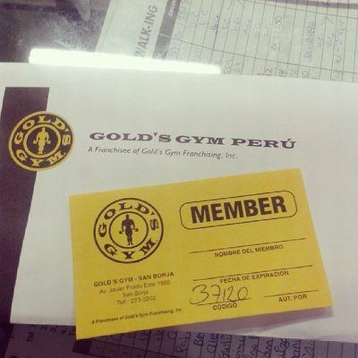 Entrenar!! Gym Goldgym Igersperu Fitness