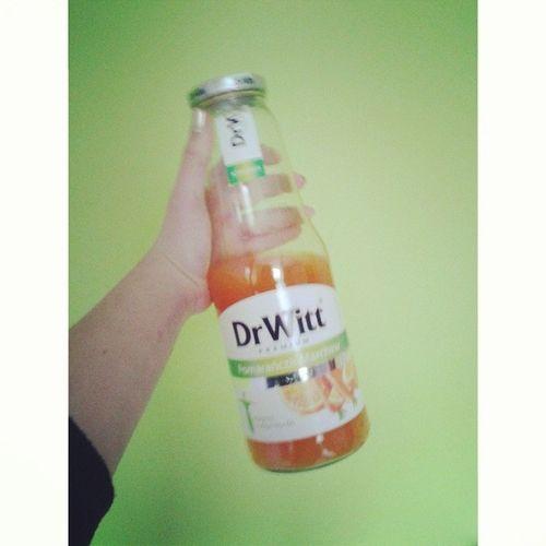 DrWit Juice Orange Carrot yummygreen