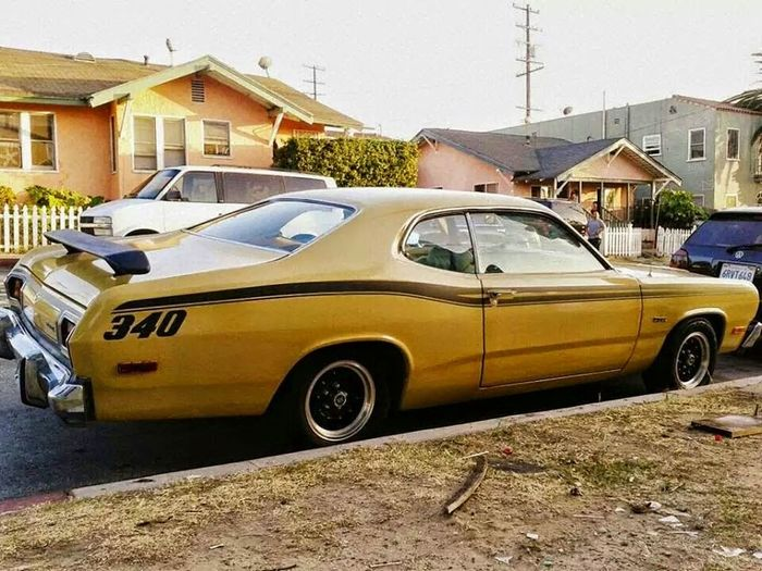 My Car Mopar 1974 Plymouth Duster Mopar Gang