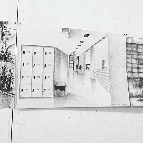 My 2d Drawing From My Point Of View Black & White EyeEm Best Shots - Black + White My Collage :) My Eye View Drawn By Me Throwback A Few Years Ago Follow Me On Instagram