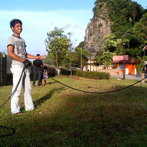 Breaking Flayingfox at Gua  Damai