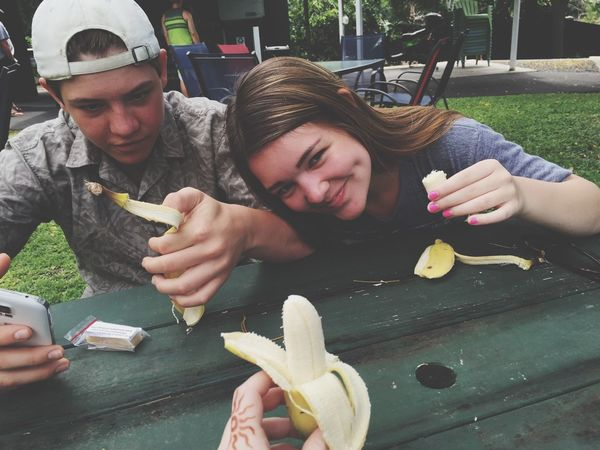 Love apple bananas with my friends:) Banana Hawaii