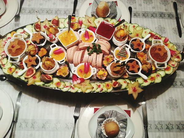 Christmas Time Christmas Table! Merry Christmas! Christmas Christmas Dinner