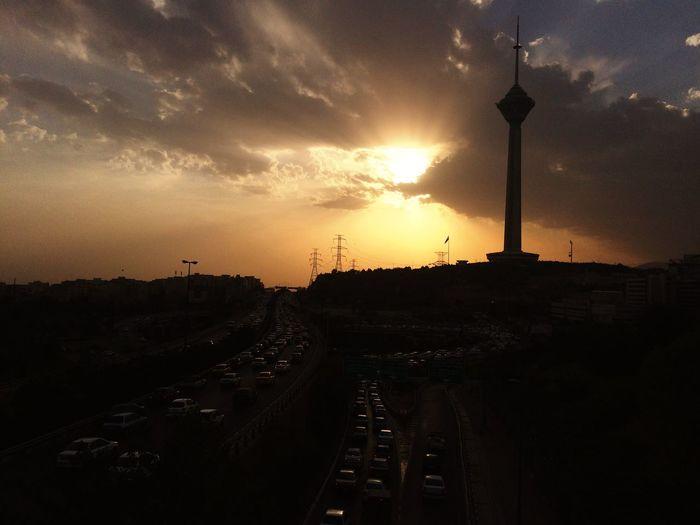 """Milad sky scraper """"Tehran-Iran"""". First Eyeem Photo Tehran"""