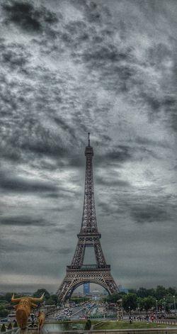 Sky Tower Monument Travel Cloud - Sky Tourism Architecture Travel Destinations Cityscape Urban Skyline Day Paris, France  Paris ❤ Eiffeltower🇫🇷😛😛 Torre Eiffel Eiffeltower ♥ Motoxplayphotography Motoxplay