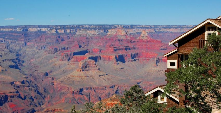 House Outdoors Sky Architecture Grand Canyon Landscape EyeEmNewHere