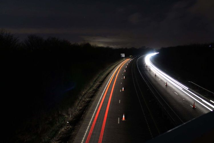 Nightphotography Night Light Trail Braintree Essex EyeEmNewHere