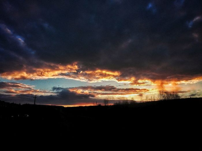 Dramatic Sky Cloud - Sky Sky Sunset Nature Night Outdoors No People Beauty In Nature