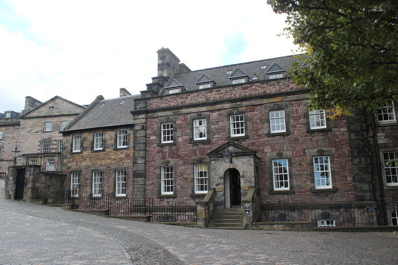 Architecture Building Exterior Built Structure City Cultures Day Edinburgh History House No People Outdoors Residential Building Row House Scotland Sky